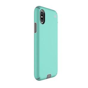 Speck iPhone X Presidio Sport - Wave Teal/Tart Pink/Gunmetal Grey