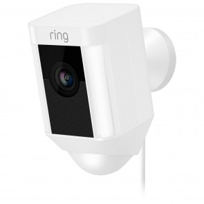 Ring Spotlight Wired Outdoor 1080p IP Camera - White