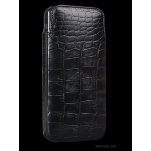 Sena 826916 Elega Leather Pouch for iPhone 5 - Croco Black