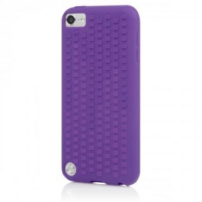 Incipio IP-428 Micro Texture Case for iPod touch 5G - Duo-Tone - Royal Purple/Vivid Violet