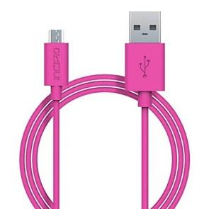 Incipio CHARGE/SYNC Micro USB Cable - Pink