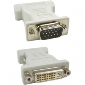 Professional Cables DVIF-VGAM-00 DVI Female to VGA HD15 Male Adapter