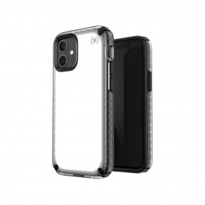 Speck iPhone 12/iPhone 12 Pro PRESIDIO2 ARMOR CLOUD - CLEAR/BLACK/WHITE HT/BLK/BLK