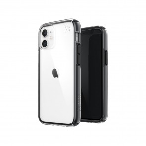 Speck iPhone 12/iPhone 12 Pro PRESIDIO PERFECT-CLEAR GEO - CLEAR/BLACK