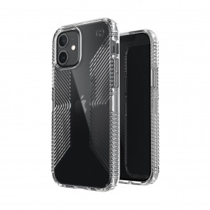 Speck iPhone 12 mini PRESIDIO PERFECT-CLEAR GRIP - CLEAR/CLEAR