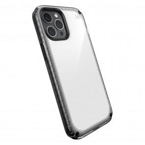 Speck iPhone 12 Pro Max PRESIDIO2 ARMOR CLOUD - CLEAR/BLACK/WHITE HT/BLK/BLK