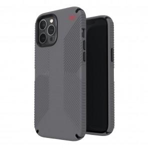 Speck iPhone 12 Pro Max PRESIDIO2 GRIP - GRAPHITE GREY/GRAPHITE GREY/BOLD RED