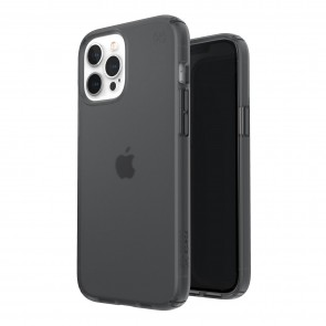 Speck iPhone 12 Pro Max PRESIDIO PERFECT-CLEAR + SOFT TOUCH - OBSIDIAN/OBSIDIAN