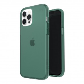 Speck iPhone 12 Pro Max PRESIDIO PERFECT-CLEAR + SOFT TOUCH - FERN GRN/FERN GRN