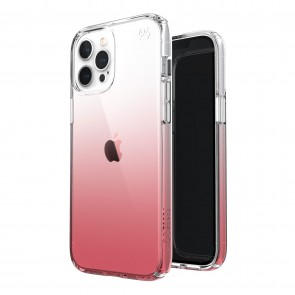 Speck iPhone 12 Pro Max PRESIDIO PERFECT-CLEAR OMBRE - CLEAR/VINTAGE ROSE
