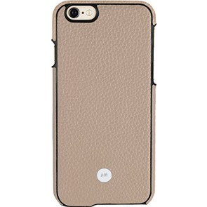 Just Mobile QuattroBack Artisanal Fashionable for iPhone 6s/6 - Retail Packaging - Beige