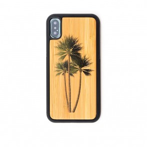 Reveal Palm Tree Bamboo iPhone X Case