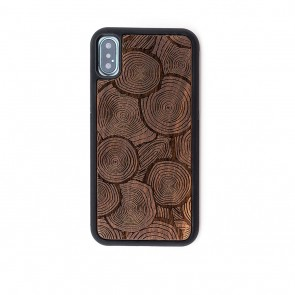 Reveal Floresta Wood Engraved iPhone X Case
