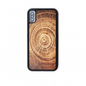 Reveal Tree Ring Wood iPhone X Case