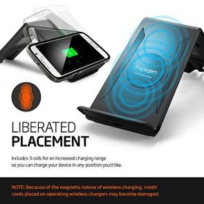 Spigen F300W Qi Wireless Charger Black