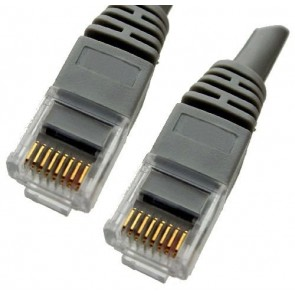 Professional Cable CAT5LG-07 Category 5E Ethernet 7-ft Cable - Gray