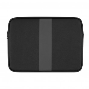"JACK SPADE Racing Stripe Sleeve for 13"" Laptops - Black/Magnet Stripe"