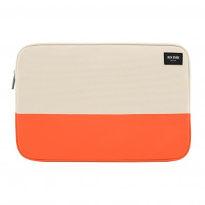 "JACK SPADE Dipped Canvas Sleeve for 13"" Laptops - Natural Canvas/Orange"