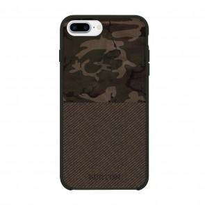 Burton Translucent Color-Block Case for iPhone 7 Plus & iPhone 6/6s Plus - Bkamo Green/Brown Tweed