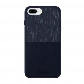 Burton Translucent Color-Block Case for iPhone 7 Plus & iPhone 6/6s Plus - Rain Stencil Eclipse/Navy Leather