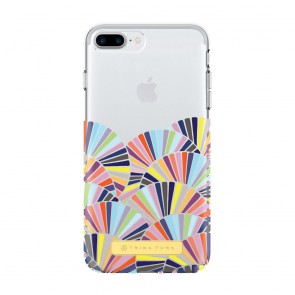 Trina Turk Translucent Case (1-PC) for iPhone 7 Plus & iPhone 6 Plus/6s Plus - Copellia Multi/Clear