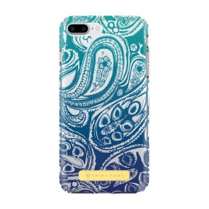 Trina Turk Translucent Case (1-PC) for iPhone 7 Plus & iPhone 6 Plus/6s Plus - Presidio Paisley Blue Ombre/Clear