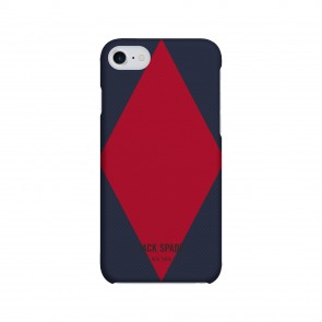 JACK SPADE 1-PC Snap Case for iPhone 7 - Diamondback Navy/Cherry
