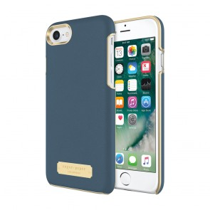 Sugar Paper Wrap Case for iPhone 8 & iPhone 7 - Navy Blue Saffiano