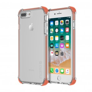Incipio Reprieve Sport for iPhone 8 Plus & iPhone 7 Plus - Coral/Clear