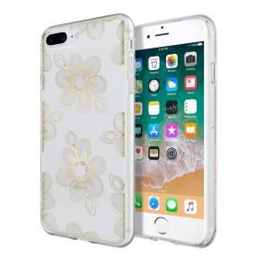 Incipio Design Series - Classic for iPhone 8 Plus, iPhone 7 Plus, & iPhone 6/6s Plus -Beaded Floral
