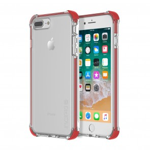 Incipio Reprieve Sport for iPhone 8 Plus & iPhone 7 Plus - Red/Clear