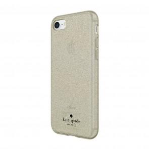 kate spade new york Flexible Glitter Case for for iPhone 8, iPhone 7 & iPhone 6/6s - Gold Glitter