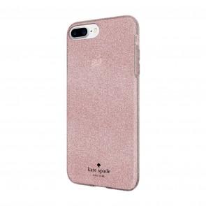 kate spade new york Flexible Glitter Case for iPhone 8 Plus, iPhone 7 Plus & iPhone 6 Plus/6s Plus - Rose Gold Glitter