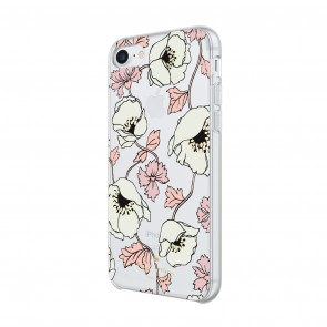 kate spade new york Protective Hardshell Case for iPhone 8, iPhone 7 & iPhone 6/6s - Dreamy Floral Cream/Rose Dew/Tech Pink Sand/Black/Gold Foil