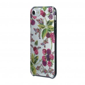 Vera Bradley Flexible Frame Case for iPhone 8, iPhone 7 & iPhone 6/6s - Winter Berry/Pink Multi/Clear