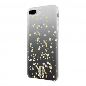 House of Harlow 1960 Printed Case for iPhone 8 Plus, iPhone 7 Plus & iPhone 6 Plus/6s Plus - Scattered Stars Gold Glitter/Black Ombre