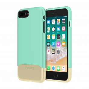 Incipio Edge Chrome for iPhone 8 Plus - Teal/Gold