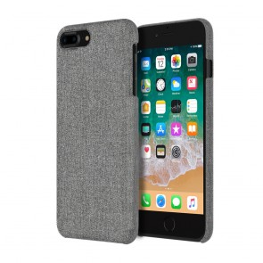 Incipio Esquire Series Slim Case for iPhone 8 Plus - Gray Fabric