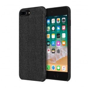 Incipio Esquire Series Slim Case for iPhone 8 Plus - Black Fabric