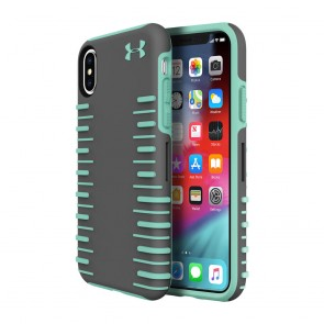 Under Armour UA Protect Grip 2.0 Case for iPhone X/Xs - Graphite/Crystal