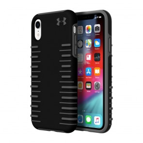Under Armour UA Protect Grip 2.0 Case for iPhone XR - Black/Graphite