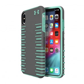 Under Armour UA Protect Grip 2.0 Case for iPhone Xs Max - Graphite/Crystal