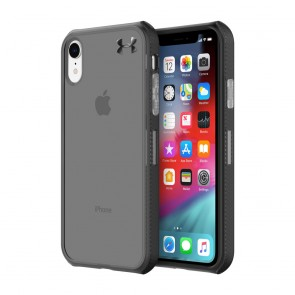 Under Armour UA Protect Verge Case for iPhone XR - Translucent Smoke/Black/Black
