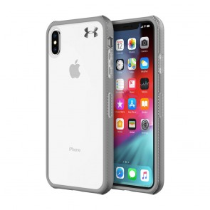 Under Armour UA Protect Verge Case for iPhone Xs Max - Clear/Graphite/Gunmetal