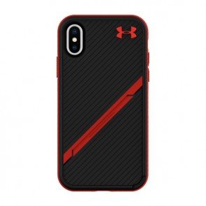 Under Armour UA Protect Kickstash Case for iPhone X/Xs - Black/Red