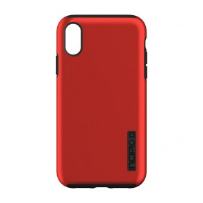 Incipio DualPro for iPhone XR - Iridescent Red/Black