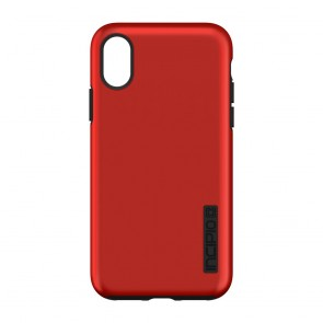 Incipio DualPro for iPhone X/Xs - Iridescent Red/Black