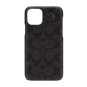 Coach Slim Wrap Case for iPhone 11 Pro - Signature C Black