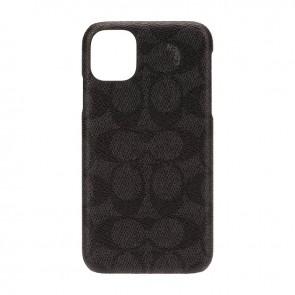 Coach Slim Wrap Case for iPhone 11 - Signature C Black