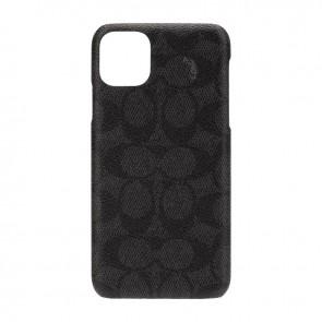 Coach Slim Wrap Case for iPhone 11 Pro Max - Signature C Black